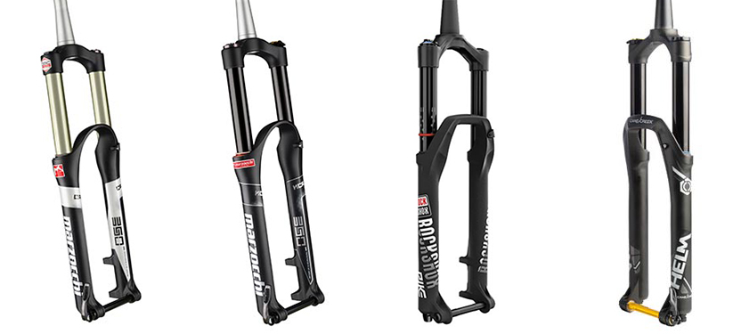 BTR fork options from Marzocchi, RockShox and Cane Creek