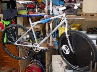 Emyr's Custom Built Bike Polo Frame - 'Bantam'