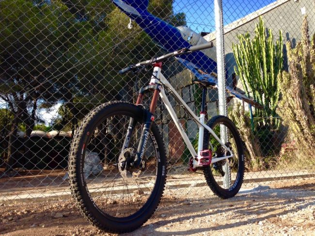 Sergio's Custom BTR Fabrications Ranger 650B in Spain