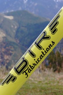 BTR Fabrications Ranger #046 Bike Down Tube Graphics