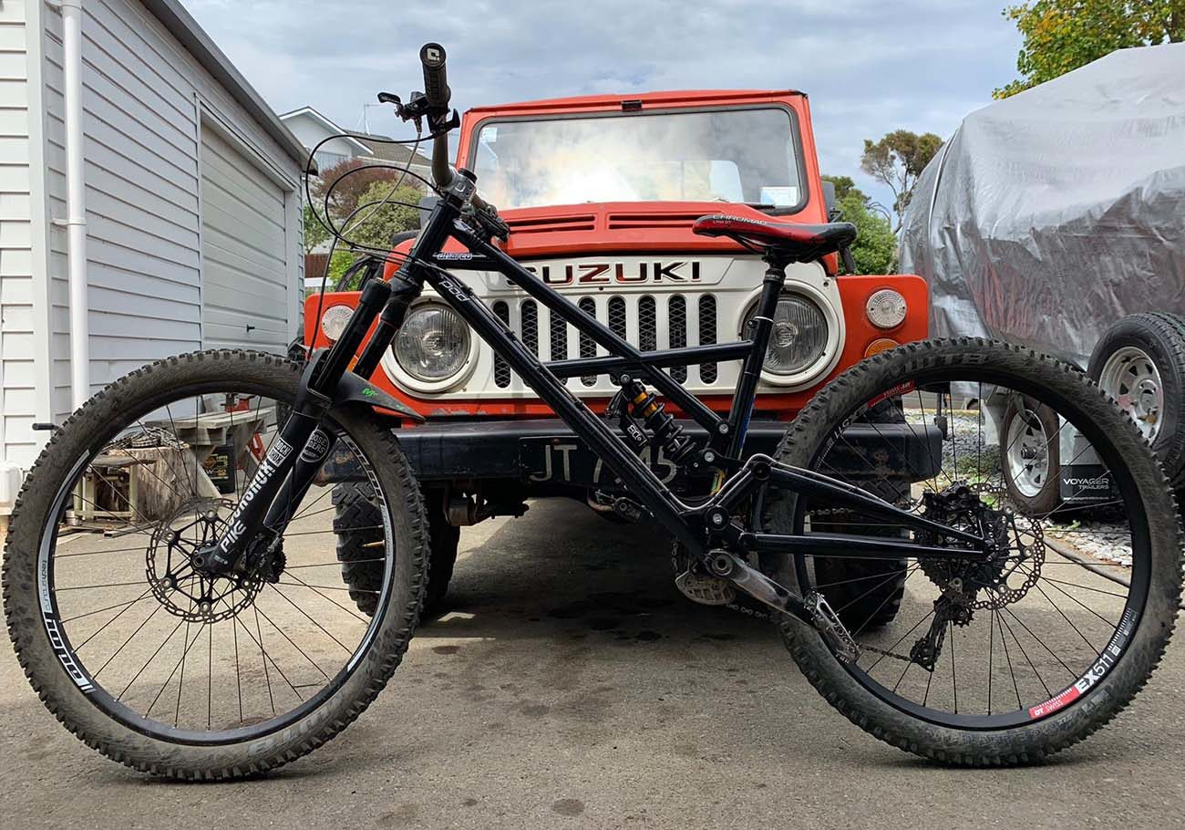 Jake Boylett Ambassador BTR Fabrications Pinner Bike